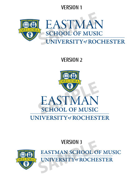 Eastman logo samples