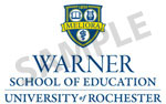 Warner School of Education logo samples version 2