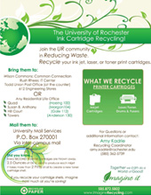 River Campus ink recycling
