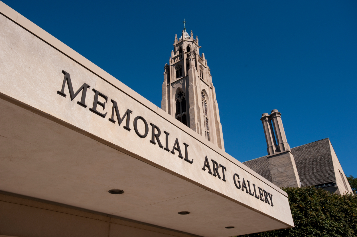 Outside shot of Memorial Art Gallery (MAG)