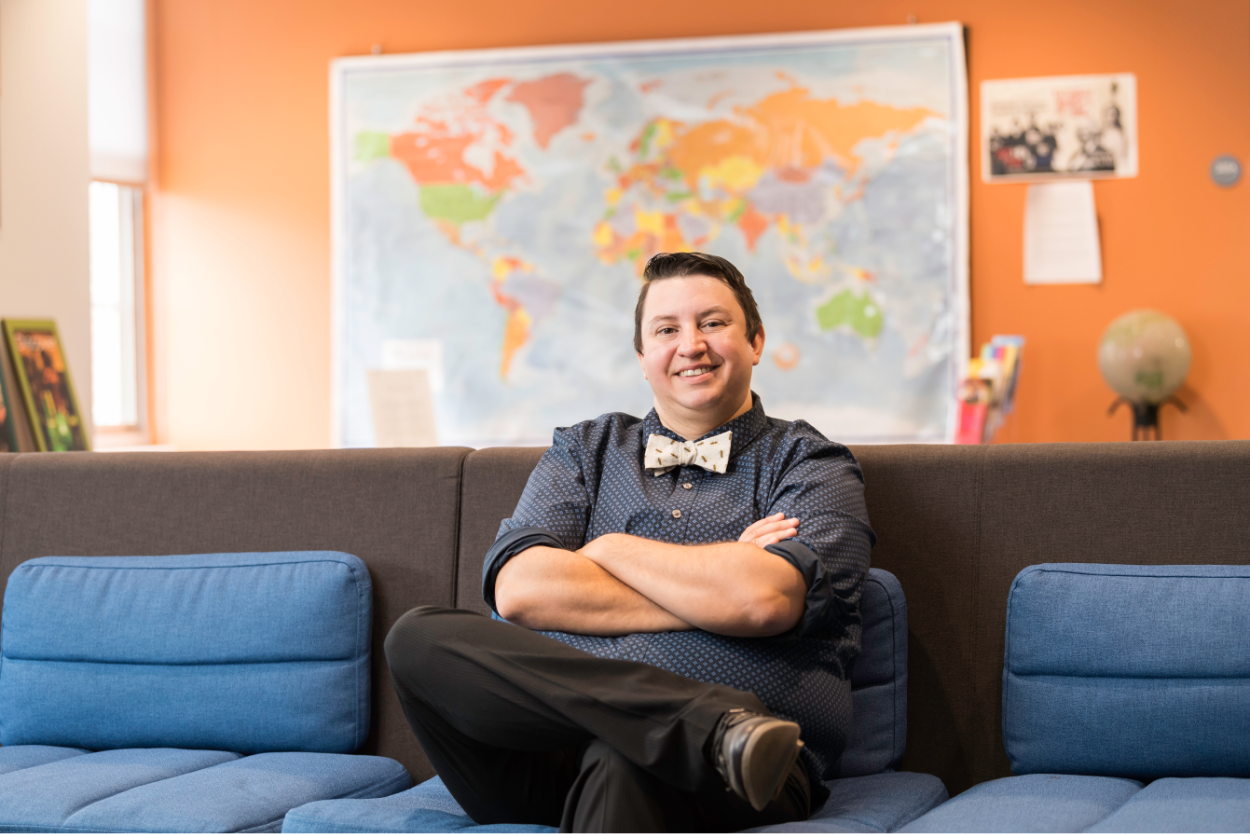 Colleen Raimond, the University's first LGBTQ coordinator
