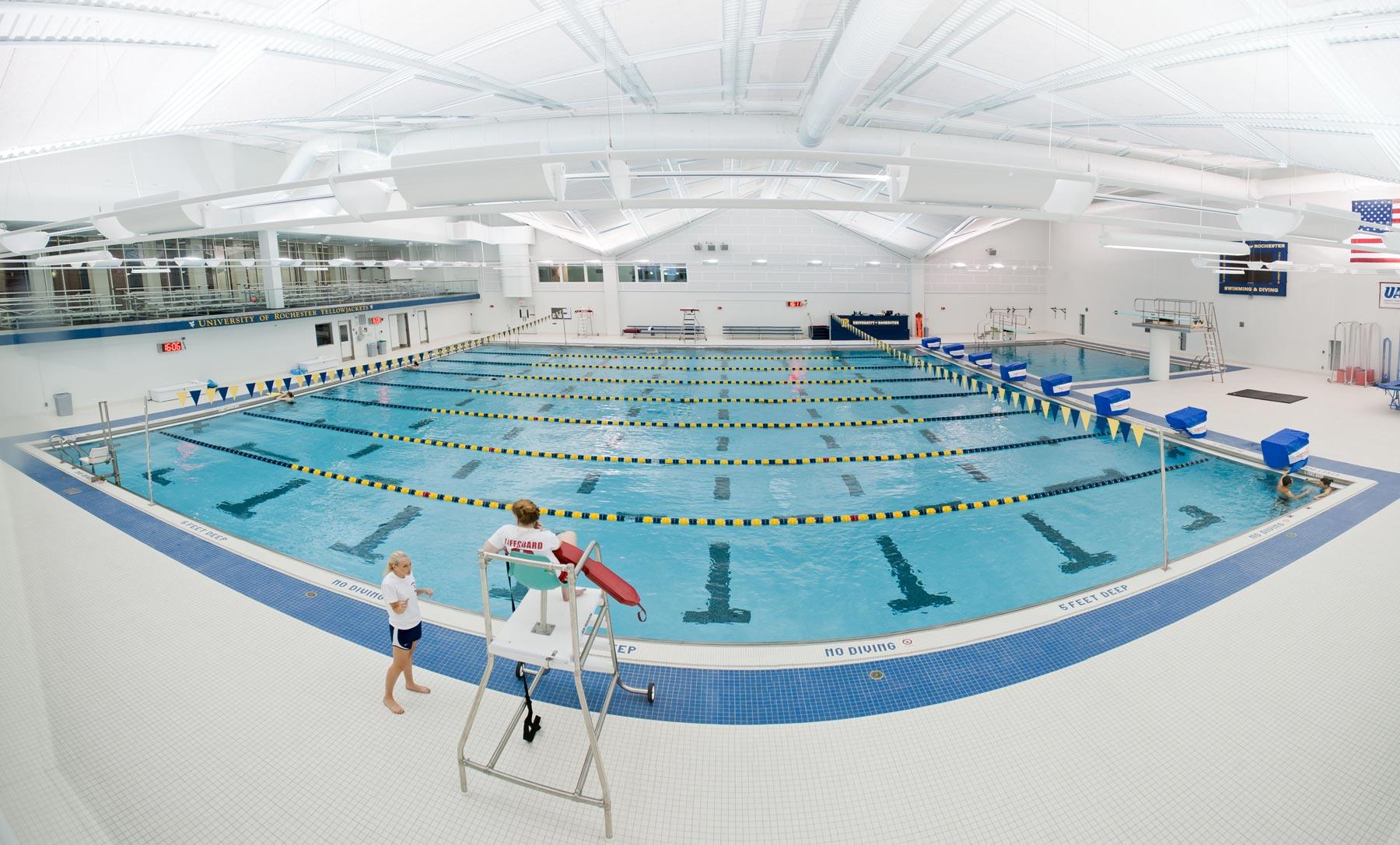 R pool  Speegle-Wilbraham Aquatic Center: University of Rochester