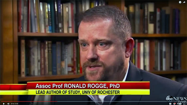 still from Ron Rogge video
